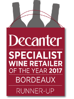 Decanter - Specialist Wine Retailer of the Year 2017 - Bordeaux
