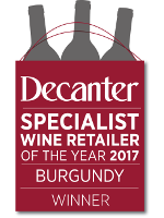 Decanter - Specialist Wine Retailer of the Year 2017 - Burgundy