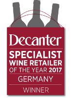 Decanter - Specialist Wine Retailer of the Year 2017 - Germany