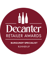 Decanter - Specialist Wine Retailer of the Year 2018 - Runner Up - Burgundy