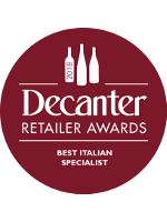 Decanter - Specialist Wine Retailer of the Year 2018 - Italy
