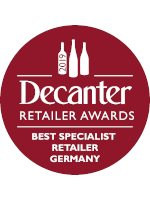 Decanter - Specialist Wine Retailer of the Year 2019 - Germany