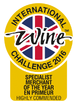 International Wine Challenge 2016 - Specialist Merchant of the Year - En Primeur