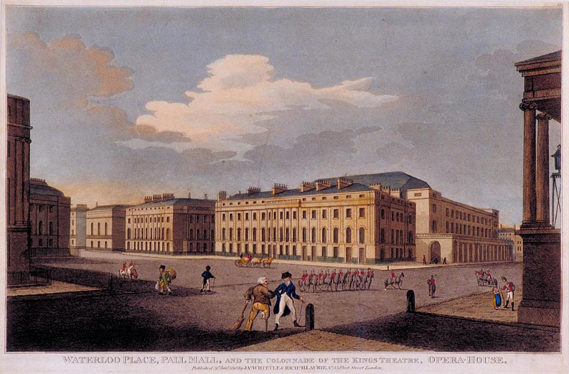 The Colonnade, Pall Mall