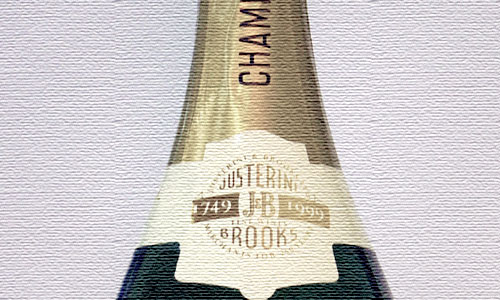 The Justerinis' 250th Anniversary Cuvée Champagne