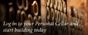 Log in to your Personal Cellar and start building today