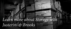 Learn more about the storage with Justerini & Brooks